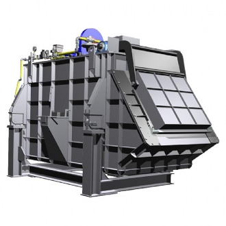 Melting Basin Furnace for Al alloys